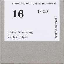 """Pierre Boulez (1925-2016): Sämtliche Klavierwerke """"Constellation-Miroir"""", 2 CDs"""
