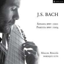 Johann Sebastian Bach (1685-1750): Sonaten & Partiten BWV 1001 & 1004 für Laute, CD