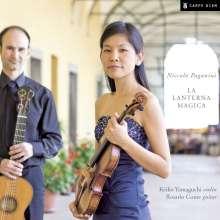 """Niccolo Paganini (1782-1840): Werke für Violine & Gitarre """"La Lanterna Magica"""", CD"""