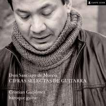 "Santiago de Murcia (1682-1732): Gitarrenwerke ""Cifras Selectas De Guitarra"", CD"