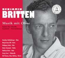 Benjamin Britten (1913-1976): Temporal Variations f.Oboe & Klavier, CD