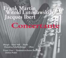 Witold Lutoslawski (1913-1994): Konzert f.Oboe,Harfe & Kammerorchester, CD