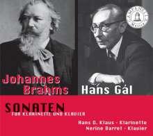 Hans Gal (1890-1987): Klarinettensonate op.84, CD