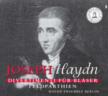 Joseph Haydn (1732-1809): Divertimenti f.Bläser H2 Nr.3,7,14,15,18,23, CD