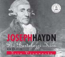 Joseph Haydn (1732-1809): Klaviertrios H15 Nr.27-29, CD