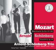 Arnold Schönberg (1874-1951): Streichtrio op.45, CD