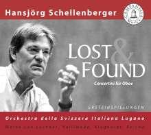 Hansjörg Schellenberger - Lost & Found, CD