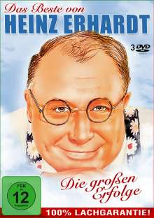 Das Beste von Heinz Erhardt, 3 DVDs