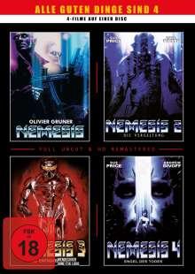 Nemesis 1-4, DVD