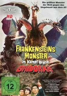 Frankensteins Monster im Kampf gegen Ghidorah, DVD