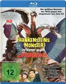 Frankensteins Monster im Kampf gegen Ghidorah (Blu-ray), Blu-ray Disc