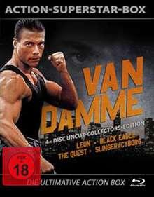 Action-Superstar-Box: van Damme (Blu-ray), 4 Blu-ray Discs