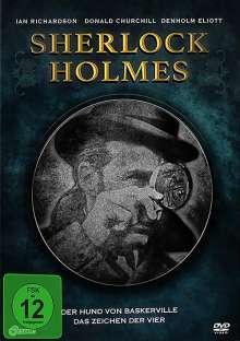 Sherlock Holmes: Der Hund von Baskervilles / Das Zeichen der Vier, 2 DVDs