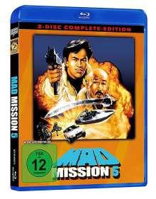 Mad Mission 5 (Blu-ray & DVD), 1 Blu-ray Disc und 1 DVD