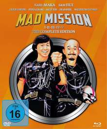 Mad Mission (The Complete Edition) (Blu-ray & DVD), 9 Blu-ray Discs