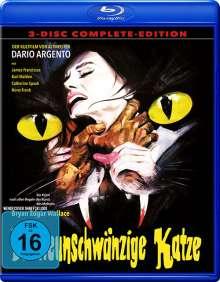 Die neunschwänzige Katze (Blu-ray & DVD), 3 Blu-ray Discs