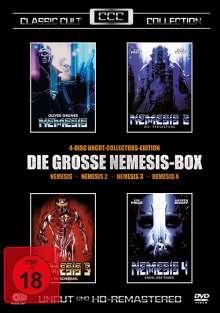 Die grosse Nemesis-Box 1-4 (Uncut-Collectors Edition), 4 DVDs