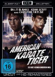 American Karate Tiger, DVD