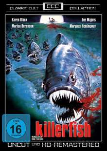 Killerfish, DVD