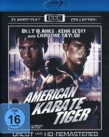 American Karate Tiger (Blu-ray), Blu-ray Disc