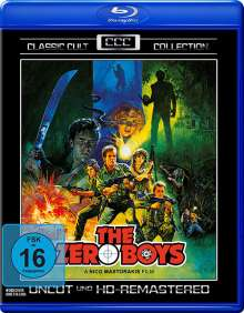 The Zero Boys (Blu-ray), Blu-ray Disc