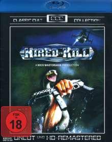 Hired to Kill (Blu-ray), Blu-ray Disc