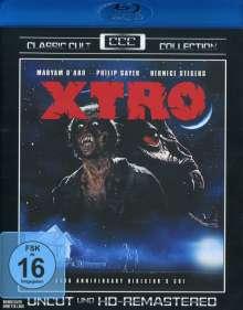 X-Tro (Blu-ray), Blu-ray Disc