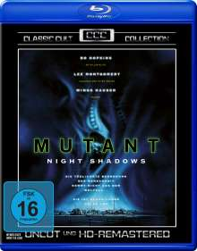 Mutant - Night Shadows (Blu-ray), Blu-ray Disc