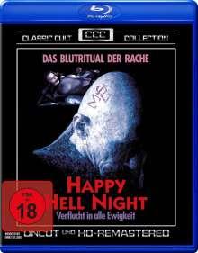 Happy Hell Night (Blu-ray), Blu-ray Disc