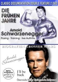 Arnold Schwarzenegger - Die frühen Jahre / I'll be back - Die Biografie, 2 DVDs