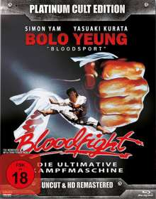 Bloodfight (Blu-ray & DVD), 1 Blu-ray Disc und 1 DVD