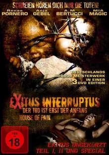 Exitus Interruptus / House Of Pain (Special Edition), 3 DVDs