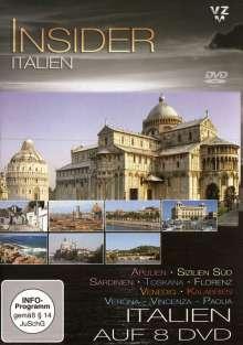 Italien: Insider Italien, 8 DVDs
