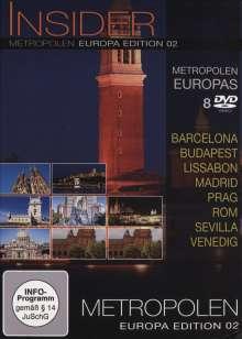 Insider Metropolen - Europa Edition 02  [8 DVDs], 8 DVDs