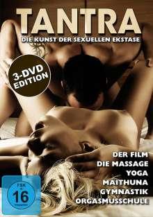 Tantra - Die Kunst der sexuellen Ekstase 1-3, 3 DVDs