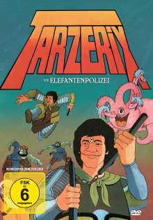Tarzerix - Die Elefantenpolizei, DVD