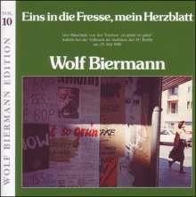 Wolf Biermann: Eins in die Fresse mein Herz.., 2 CDs