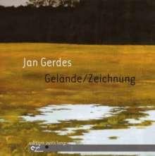 Jan Gerdes - Gelände/Zeichnung, CD
