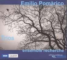 Emilio Pomarico (geb. 1954): Nachtfragmente für Streichtrio, CD