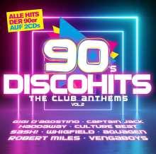 90s Disco Hits: The Club Antehms Vol.2, 2 CDs