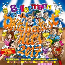 Ballermann Oktoberfest Hits 2017, 3 CDs