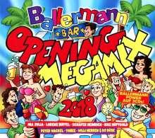 Ballermann Opening Megamix 2018, 3 CDs