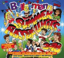 Ballermann Summer: Fußball Hits 2018, 3 CDs