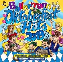 Ballermann Oktoberfest Hits 2019, 2 CDs