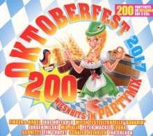 Oktoberfest 2017: 200 Wiesnhits Im Partymix, 3 CDs