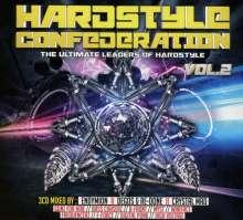 Hardstyle Confederation Vol.2, 3 CDs