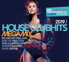 House Clubhits Megamix 2019.1, 3 CDs