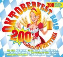 Oktoberfest 2019: 200 Wiesnhits im Partymix, 3 CDs