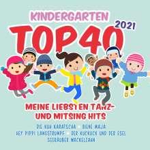 Kindergarten Top 40 2021, 2 CDs