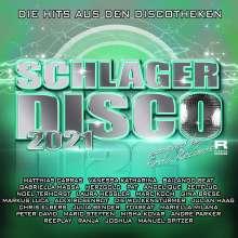 Schlager Disco 2021: Die Hits aus den Discotheken, 4 CDs
